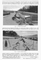 """TRAVAUX DU CHEMIN DE FER D'ORLEANS à PARIS  """" éboulement D'un Mur """"  1899 - Chemin De Fer"""