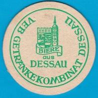 Brauhaus Dessau Desau-Roßlau ( Bd 2124 ) O 90mm - Bierdeckel