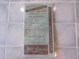 Livret Guide Du Touriste Les Pyrenees Luchon Pays Basque Cote D Argent 1920 - Dépliants Touristiques