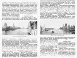 """"""" EXPOSITION 1900  """" Les Travaux Sur Les Berges De La SEINE à PARIS  1900 - Parigi"""