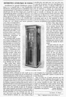 DISTRIBUTEUR AUTOMATIQUE De FLEURS    1900 - Technical