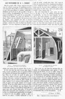 LES MANSARDES De M. A. FERRET  1900 - Autres