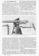 "LES CANONS  "" SCHNEIDER-CANET ""  1900 - Militaria"