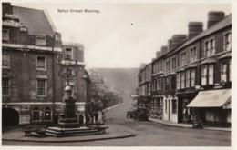 AO56 Talbot Street, Maesteg - Vintage Car, Shop, RPPC - Glamorgan
