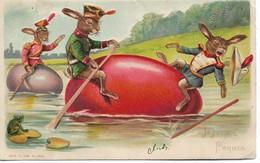 Joyeux Paques Relief - Cartes Postales