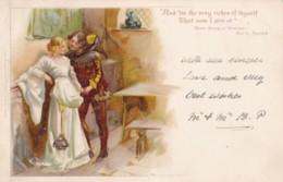 AO56 Raphael Tuck Postcard - Merry Wives Of Windsor, Act III - Undivided Back - Tuck, Raphael