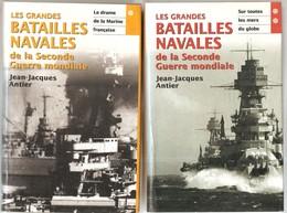 Marines Les Grandes Batailles Navales De La Seconde Guerre Mondiale Tomes 1 Et 2 Par Jean-Jacques Antier - French