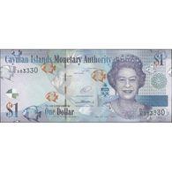 TWN - CAYMAN ISLANDS 38d2 - 1 Dollar 2014 Prefix D/5 UNC - Isole Caiman
