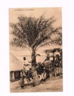 La Récolte Du Vin De Palmes.Ligue Nationale Pour La Protection De L'enfance Noire Au Congo Belge. - Congo Belge - Autres
