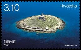 2015 Lighthouses, Glavat, Croatia, Hrvatska, MNH - Croatie