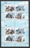 W755 2011 GUINE-BISSAU FAUNA BIRDS EAGLES WWF TERATHOPIUS ECAUDATUS !!! MICHEL 19 EURO !!! 1KB MNH - W.W.F.