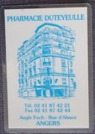 Petit Calendrier De Poche Plastifié 2003 Angers - Calendriers