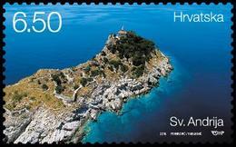 2015 Lighthouses, Sv, Andrija, Croatia, Hrvatska, MNH - Croatie