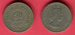 50 CENTS  1962 ( KM  37) TB 3 - Belize