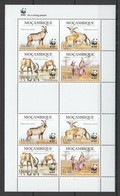 W758 2009 MOCAMBIQUE FAUNA WILD ANIMALS WWF HIPPOTRAGUS !!! MICHEL 13 EURO !!! 1SH MNH - W.W.F.