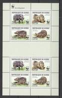 W759 2009 DE GUINEE FAUNA WILD ANIMALS WWF HYLOCHOERUS !!! MICHEL 20 EURO !!! 1KB MNH - W.W.F.