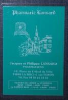 Petit Calendrier De Poche Plastifié 2003 La Roche Sur Foron - Calendriers