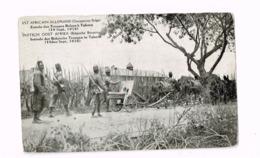Est Africain Allemand (Occupation Belge) Entrée Des Troupes Belges à Tabora.(10 Septembre 1916) - Ruanda-Urundi