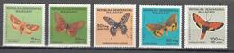 Madagascar 1984,5V In Set,butterflies,vlinders,schmetterlinge,papillons,mariposas,farfalle MNH/Postfris(A3609) - Vlinders