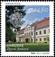 2015 Castles Of Croatia, Daruvar, Croatia, Hrvatska, MNH - Croatie