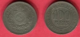 100 REIS   1870 ( KM  5) TB 3 - Brésil