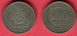 100 REIS   1870 ( KM  5) TB 3 - Brazil