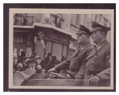 Adolf Hitler (007129) Sammelbilder Austria Tabakwerke, AH Und Sein Weg Zu Großdeutschland Bild 292, Dr.Jury Und Henlein - Zigaretten