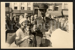 Postcard / Royalty / Belgique / Roi Leopold III / Koning Leopold III / Place Du Jeu De Balle / 1938 / Prince Baudouin - Marktpleinen, Pleinen