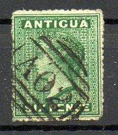 AMERIQUE CENTRALE - ANTIGUA - (Colonie Britannique) - 1863-67 - N° 3 - 6 P. Vert - (Victoria) - Antigua Et Barbuda (1981-...)