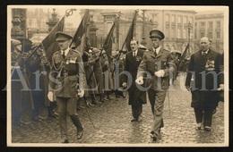 Postcard / ROYALTY / Belgique / België / Koning Leopold III / Roi Leopold III / Bruxelles / Generaal (?) - Personnages