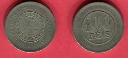 100 REIS   1889 ( KM 481) TB 2 - Brésil