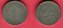 100 REIS   1889 ( KM 481) TB 2 - Brazil