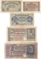 Germany Third Reich Military Notes - [ 4] 1933-1945 : Troisième Reich