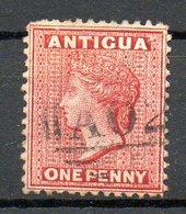 AMERIQUE CENTRALE - ANTIGUA - (Colonie Britannique) - 1873-76 - N° 4 - 1 P. Carmin - (Victoria) - Antigua Et Barbuda (1981-...)