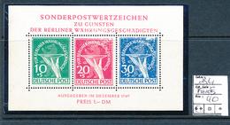 GERMANY BERLIN YVERT BL1 FAULTS ON THE FACE MNH - [5] Berlin