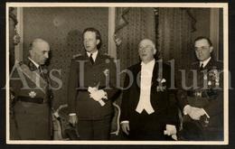Postcard / ROYALTY / Belgique / België / Roi Leopold III / Koning Leopold III / Gala Des Anciens De L'Yser / 1937 - Personnages