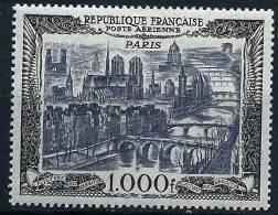 """FR Aerien YT 29 (PA) """" Vue De Paris """" 1949 Neuf* - 1927-1959 Mint/hinged"""