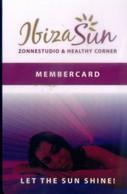 Netherlands , Ibiza Sun Zonnestudio & Healthy Corner, Member Card (1pcs) - Netherlands
