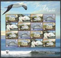 W778 2013 TRISTAN DA CUNHA WWF FAUNA BIRDS TRISTAN ALBATROSS !!! MICHEL 32 EURO !!! 1SH MNH - W.W.F.