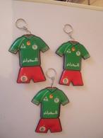Lot De 3 Porte-clés -Equipe De Football Algerienne. - Porte-clefs