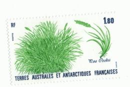 VP6L8 TAAF FSAT Antarctic Neufs**  Flore Poa Cooki 1987 N°125 - Terres Australes Et Antarctiques Françaises (TAAF)