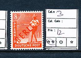 GERMANY BERLIN YVERT 3 MNH - [5] Berlin