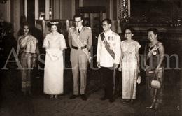 Postcard / ROYALTY / Belgium / Belgique / Roi Baudouin / Koning Boudewijn / Bhumibol / Rama IX / Thailand / Unused - Familles Royales