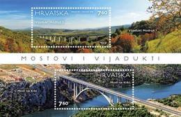 2015 Architecture,Bridges And Viaducts, Croatia, Hrvatska, MNH - Croatie