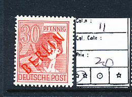 GERMANY BERLIN YVERT 11 MNH - [5] Berlin