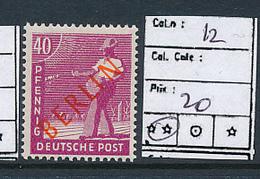 GERMANY BERLIN YVERT 12 MNH - [5] Berlin