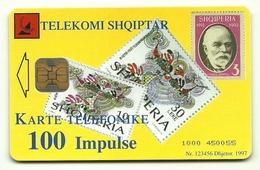 Albania - Tessera Telefonica Da 100 Units T581 TELEKOMI - Francobolli & Monete