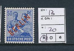 GERMANY BERLIN YVERT 13 MNH - [5] Berlin