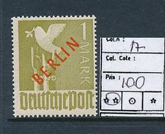 GERMANY BERLIN YVERT 17 MNH - [5] Berlin