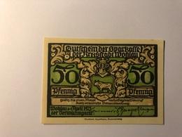 Allemagne Notgeld Allemagne Wohlau 50 Pfennig - [ 3] 1918-1933 : République De Weimar